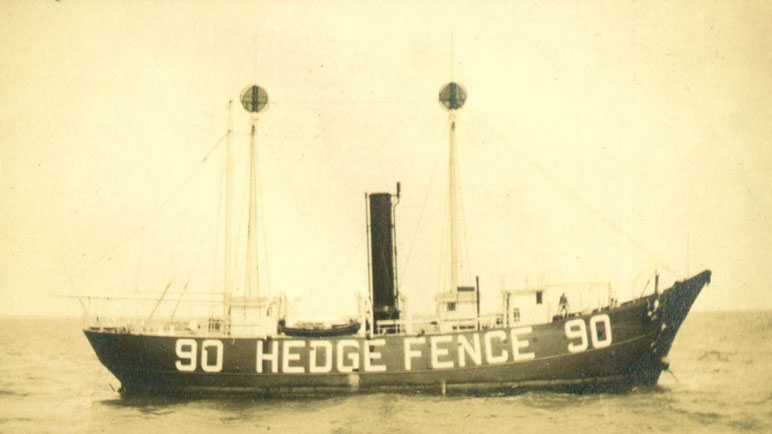 Hedge Fence Lightship