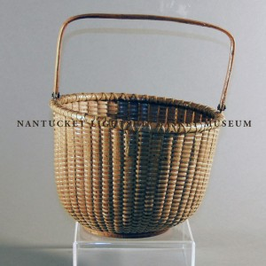"Accession No. 974 8"" open round basket"