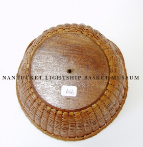 Accession #994 Open Round Lightship Basket