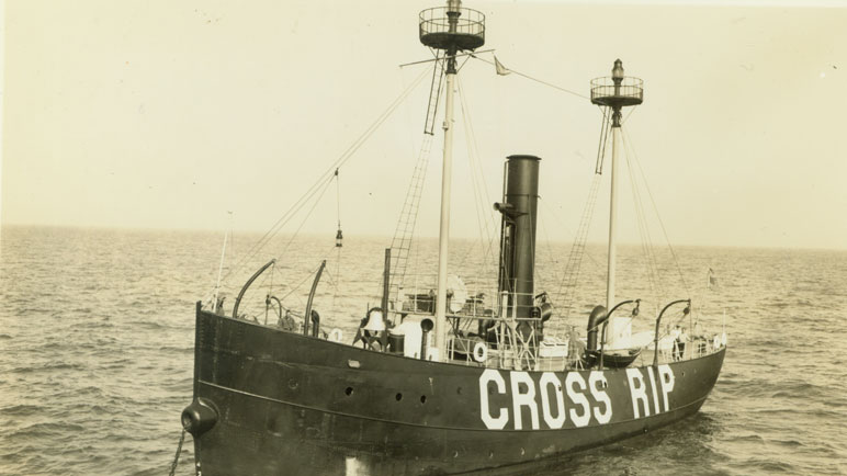 The Cross Rip Lightship