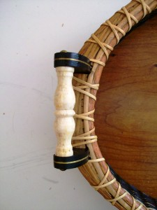 Deatil of the handle of a Hilbert basket