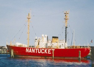 The Nantucket Lightship - Docked