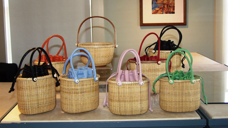 completed baskets