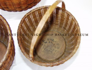 Permanent Collection Accession #992b Graduated Lightship Baskets