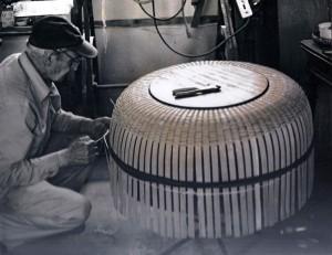 William A. Sevrens weaving