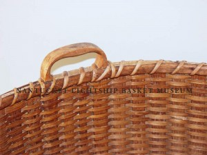 Accession #997 Utilitarian Basket Deatil of the Handle and Inside