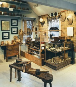 The workshop located inside the museum